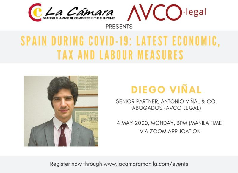 Online Seminar related to Covid-19: Tax and Labour Measures in Spain